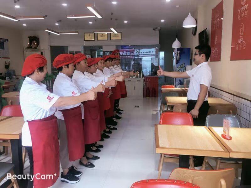 喜妙福现包水饺加盟店